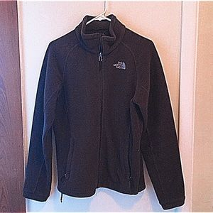THE NORTH FACE Brown Fleece Jacket M
